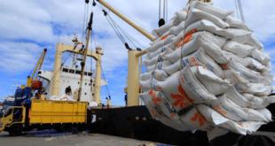 beras impor sudah datang