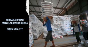tolak impor beras