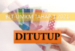 BLT-UMKM ditutup