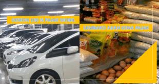 pajak mobil dan sembako